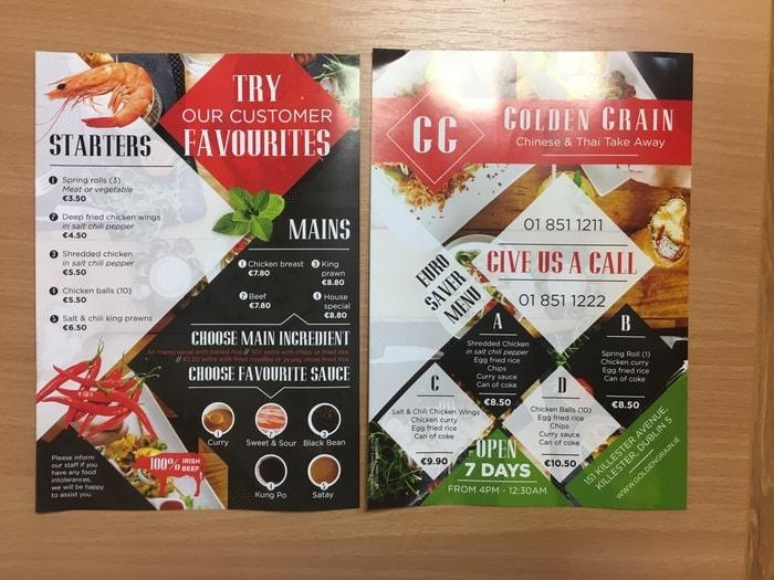Food Leaflet
